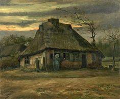 The Athenaeum - The Cottage (Vincent van Gogh - )