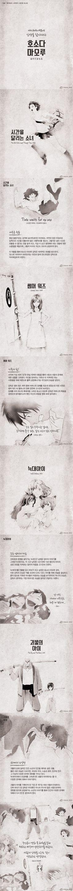 '괴물의 아이' 호소다 마모루, 애니메이션에 담은 인생 [카드뉴스] #Animation / #Cardnews ⓒ 비주얼다이브 무단 복사·전재·재배포 금지