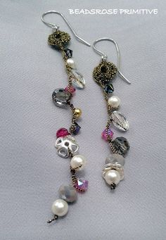 BEADSROSE PRIMITIVE: 102 ORECCHINI EARRINGS CHIC