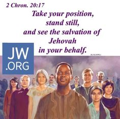 Jehovah's day is coming!