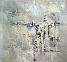 Transition I, David Baca, acrylic, $2900. #abstractart #contemporaryart