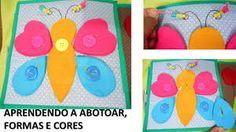 Resultado de imagem para como fazer um livro sensorial infantil eva