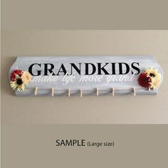 Grandkids Make Life More Grand  Decal Only by ShaunaLynnDesign