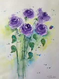 Watercolor, watercolour painting, watercolors, art prints for sale, beaut. Watercolor Cards, Watercolor Illustration, Watercolour Painting, Watercolor Flowers, Watercolours, Art Floral, Art Prints For Sale, Fabric Painting, Oeuvre D'art