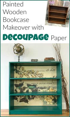 Decoupage paper is a gorgeous and affordable way to add that extra va-va-voom to your painted furniture projects. Learn how to decoupage furniture with decoupage glue and unique decoupage paper. directions as you scroll down Z Diy Furniture Projects, Refurbished Furniture, Handmade Furniture, Repurposed Furniture, Shabby Chic Furniture, Rustic Furniture, Classic Furniture, Luxury Furniture, Antique Furniture
