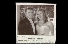 15 Wedding Announcements From Couples With Deeply Unfortunate Names - Mr. & Mrs. Traylor-Hooker.