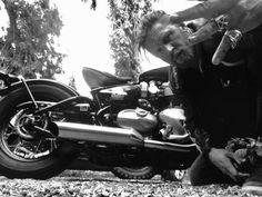 Tom Hardy Triumph Motorcycles @BikeShedMotorcycleClub - Sept. 2017