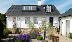 Love this garden, and the house,  Baskemölla Sweden
