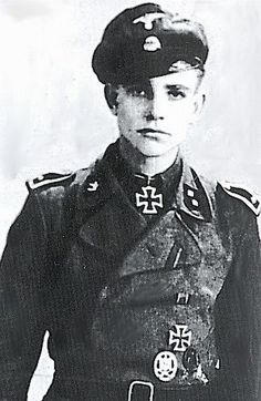 """World War 2 Awards.com - BRUINS, Derk Elsko SS Oberscharfuhrer Served with SS Volunteer Division """"Nederland"""". On March 23rd 1944 during the Battle of Narva, he knocked out 12 Soviet heavy tanks. For this feat he was awarded the Knights Cross. He married a German girl after the War, and made Germany his new home."""