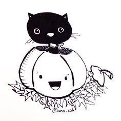 Classic Halloween cat ☺️