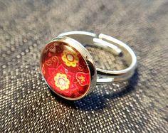 """Ringe - Cabochon-Ring """"Flowers"""" - ein Designerstück von Soulmate-Works bei DaWanda"""