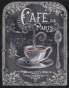 Cafe de Paris coffee art