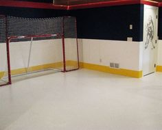 Hockey shooting gallery for rec room Outdoor Hockey Rink, Shooting Practice, Hockey Room, Dream House Interior, Hockey Stuff, Special Interest, Entertainment Room, Creative Home, Kid Spaces