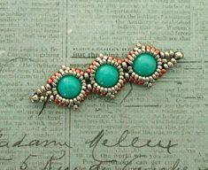 Linda's Crafty Inspirations: Bracelet of the Day: SimplElegance Bracelet - Pewter & Copper