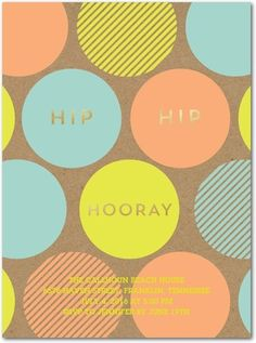 Upbeat Bash - Party Invitations - Baumbirdy - Poppy - Orange | www.TinyPrints.com