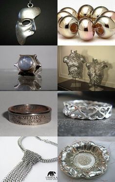 SILVER by Lorraine on Etsy--Pinned with TreasuryPin.com