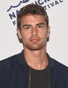 Pin for Later: 57 Celebrities Who Look Even Sexier Thanks to Their Scruff Theo James