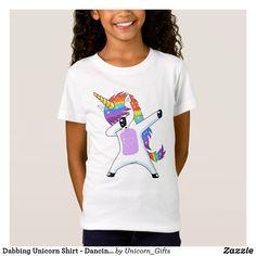 Shop Dabbing Unicorn Shirt - Dancing Rainbow Unicorn created by Unicorn_Gifts. Unicorn Shirt, Unicorn Gifts, Kids Shirts, T Shirts For Women, Funny Tee Shirts, Popular Girl, Rainbow Unicorn, Dabbing, Kids Outfits