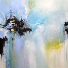Love this abstract by Isabelle Zacher-Finet.  Inspiring!