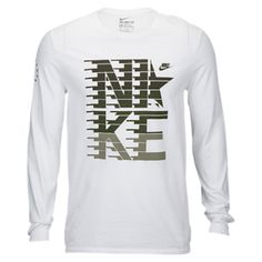 $25 Nike Graphic Long Sleeve T-Shirt - Men's at Champs Sports