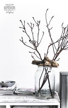 Interior Brown And Grey, Gray, Modern Rustic Decor, Interior Decorating, Interior Design, Cozy Corner, Green Accents, Shades Of White, Nature Decor