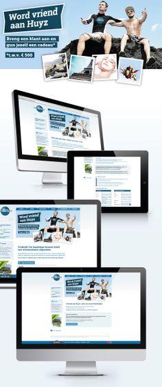 Website voor de 'Vriend aan Huyz' actie - Bekijk deze actie op: www.vriendaanhuyz.be