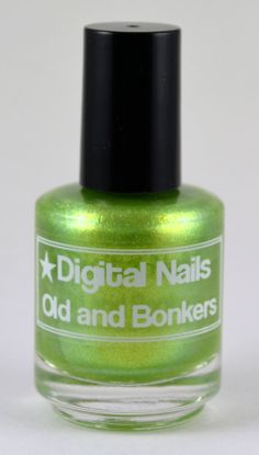 Old and Bonkers a Digital Nails Nail lacquer by DigitalNails, $10.00