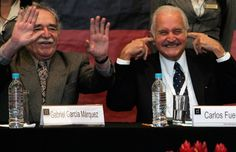 Carlos Fuentes(right)  has died. He is considered one of Latin America's most read writers
