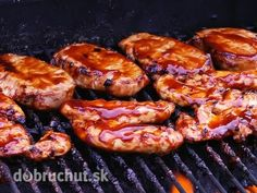 Photo about BBQ Chicken Cooking on Grill. Image of pork, food, fire - 12030110 Grilled Bbq Chicken, Tandoori Chicken, Grill Time, Stock Foto, Baked Beans, Recipe Images, How To Cook Chicken, Grilling Recipes, Pesto