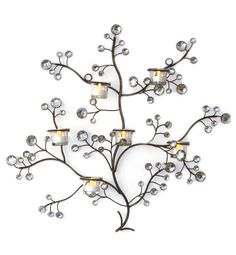 Wall Candle Holder Wall Candle Holders, Metal Crafts, Metal Furniture, Wire Art, Conservatory, Plant Decor, Outdoor Lighting, Projects To Try, Wall Decor