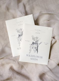 Wildflower seeds: Photography : Almond Leaf Studios Read More on SMP: http://www.stylemepretty.com/2016/07/27/this-backyard-wedding-is-basically-father-of-the-bride-irl/