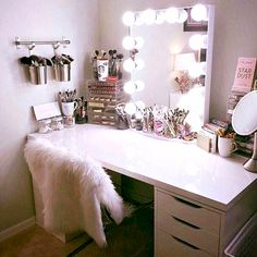 CLICK FOR NEW Makeup And Beauty Room Tips, Tutorials And The Resources To #GLAM Your #BeautyRoom & Grow Your #Makeup Collection. Exceed Your Goals And Transform Your Space Into One That Ignites Your Creativity To DREAM BIG! Access #GLAM #HomeDecor And Quality #MakeupOrganizers Designed Specifically For The Iconic IKEA® Alex Drawers To Organize Your Entire #MakeupCollection. This Is Great For The #MUA And Those Who Love ALL THINGS BEAUTY To Organize Their #Makeup And #MakeupVanity.