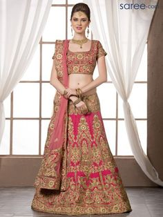 Wedding Lehenga CHoli - 3 - Saree.com