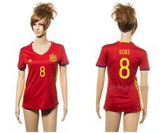 http://www.yjersey.com/8-koke-home-euro-2016-women-jersey-spain.html Only$35.00 8 KOKE HOME EURO #2016 WOMEN JERSEY SPAIN Free Shipping!