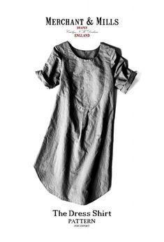 Kleider & Schürzen - Schnittmuster - The Dress Shirt - ein Designerstück von stoffsalon bei DaWanda