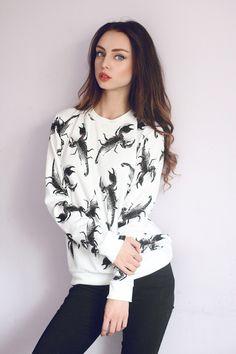 Scorpion Sweatshirt  Urbanstyle Streetwear