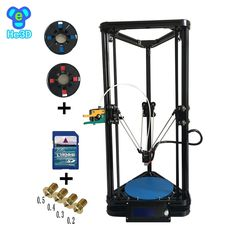 215.10$  Watch here - http://ali3xh.worldwells.pw/go.php?t=32739142212 - 2017 NEWEST auto level HE3D reprap K200 delta 3d printer kit-single E3D extruder- support multi material without  heat bed