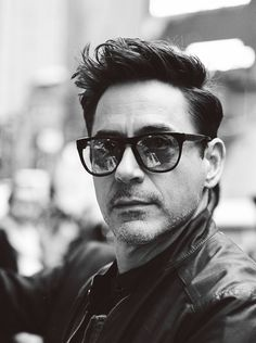 Robert Downey Jr. Black And White (Love the B.