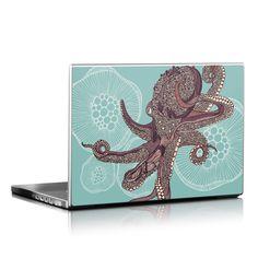 Laptop Skin - Octopus Bloom by Valentina Ramos | DecalGirl