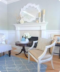 Tranquility by Benjamin Moore Centsational Girl