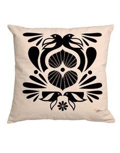 Birds in Black pillow ($68; kremelife.com)