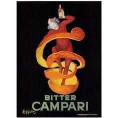 Trademark Fine Art Bitter Campari Canvas Art, 14x19, Multicolor