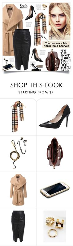 """Enter the contest ➡➡➡"" by yexyka ❤ liked on Polyvore featuring Burberry, Sheinside and shein"