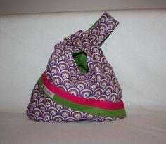 Wendetaschen - ** Wendetasche Stricktasche Knotentasche** - ein Designerstück von Kaepseles bei DaWanda