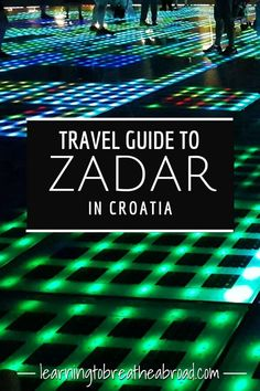Best Way To Safeguard Your Investment Decision - RV Insurance Policies A Travel Guide To Zadar In Croatia. A Medieval Town On The Coast Of Croatia. A Comprehensive List Of All The Things To See And Do In Zadar, Including Day Trips From Zadar. Croatia Itinerary, Croatia Travel Guide, Europe Travel Tips, Travel Advice, Travel Guides, Travel Destinations, Travel Pics, Holiday Destinations, Italy Travel