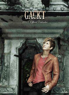 Gackt official calender photos.