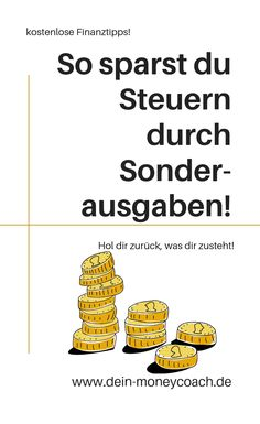 finance tips So kannst du Steuern sparen - finance Savings Planner, Financial Planner, Money Saving Challenge, Saving Money, Money Plan, Budget Planer, Budgeting Finances, Finance Tips, Money Management