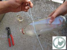 tuto-récup: couper une bouteille en verre - Le blog de pagecouleur Stained Glass, Creations, Diy, Blog, Simple, Cluster Pendant Light, Te Quiero, Hipster Stuff, Rock Crafts