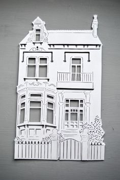 Personalised House / Home Papercut, the perfect housewarming, new home, new house gift!