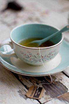 Tea in the loveliest cup!